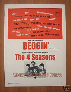 4 Seasons - beggin' ad (1967)